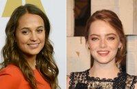 Qui d'Alicia Vikander ou d'Emma Stone jouera Agatha Christie la première ?