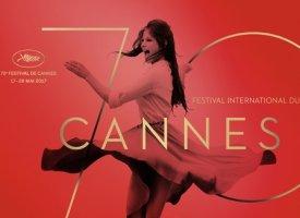 Cannes 2017 : une affiche flamboyante pour les 70 ans