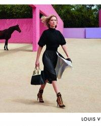 Léa Seydoux, captivante pour sa première campagne Louis Vuitton