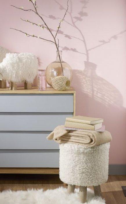 tendance d co le ros poudr en hiver sur orange tendances. Black Bedroom Furniture Sets. Home Design Ideas