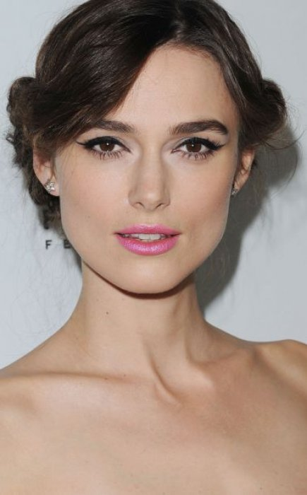 maquillage yeux marrons keira knightley
