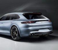La Porsche Panamera Sport Turismo au Mondial de Paris