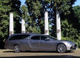 Une Maserati Ghibli pour Corbillard