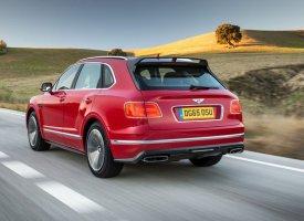 Un Bentley Bentayga Speed en vue ?