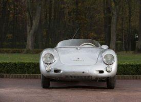 Une rare Porsche 550RS aux enchères