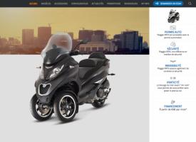 Piaggio MP3 : nouveau site et promo de rentrée