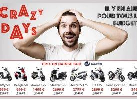 Daelim Crazy Days : après les scooters, les motos