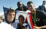 """De leur """"avion-boîte de nuit"""" à l'Elysée, les héros de Rio sont de retour!"""
