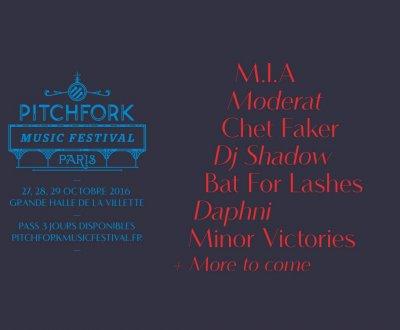 Le Pitchfork Music Festival 2016 dévoile ses premiers noms