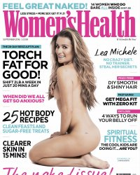 Lea Michele, nue en couverture de Women's Wealth