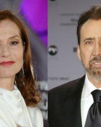 Isabelle Huppert et Nicolas Cage bientôt réunis à l'écran