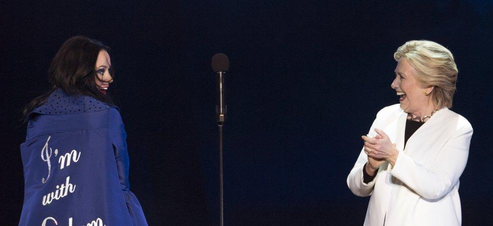 Katy Perry chante pour Hillary Clinton à Philadelphie