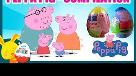 Peppa Pig Compilation Jouets Oeufs Surprises Poupees Gigognes Pate A Modeler Sur Orange Videos