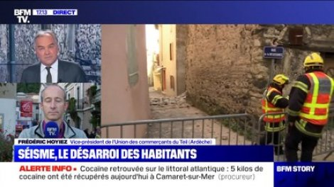 Séisme en Ardèche: le désarroi des habitants du Teil - 12/11 - Actu Orange