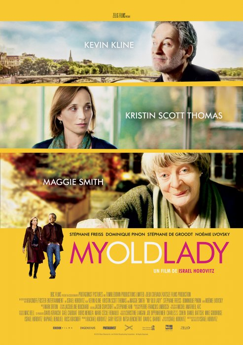 My Old Lady : Affiche