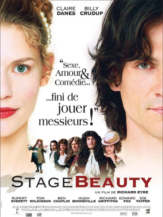 Stage Beauty : Affiche Richard Eyre