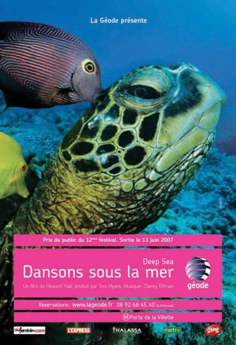 Deep Sea dansons sous la mer : affiche Howard Hall