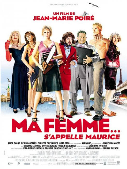 Ma femme... s'appelle Maurice : affiche