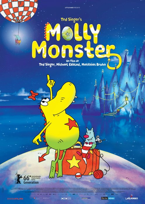 Molly Monster : Affiche