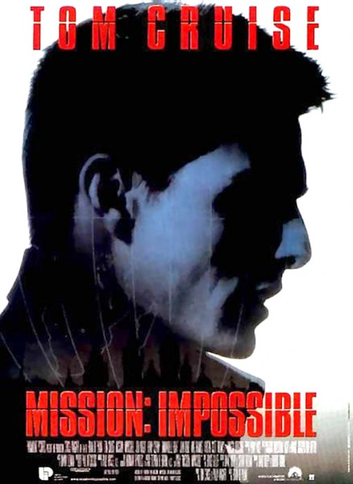 Mission : Impossible : Affiche