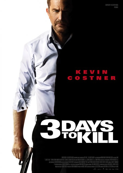 3 Days to Kill : Affiche