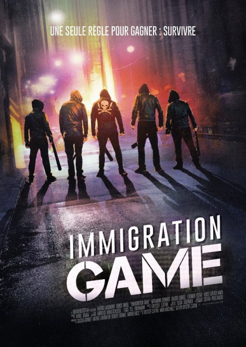 Immigration Game : Affiche