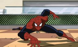 Spider-Man animé parles réal de Lego Movie