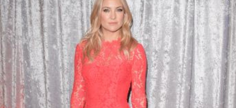 Kate Hudson et son total look orange