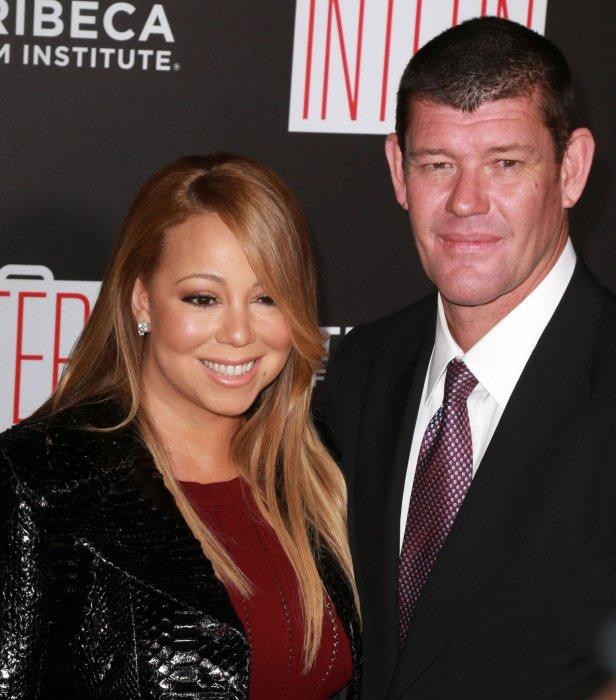 Mariah Carey et James Packer se sont rendus à la première du film  Le nouveau stagiaire  à New York, en septembre 2015.