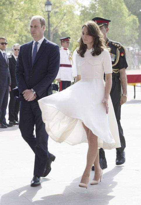 Kate Middleton : la duchesse se la joue Marilyn Monroe en Inde
