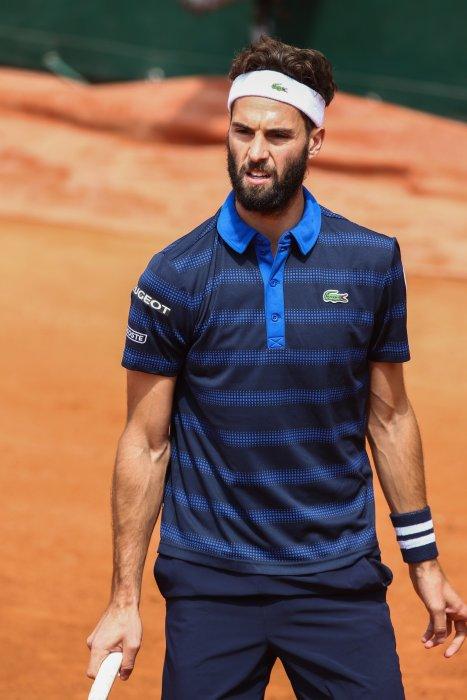 Benoît Paire, lors du Tournois de Roland Garros, à Paris, le 25 mai 2016.