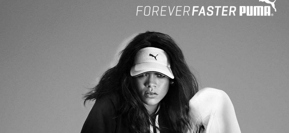Les dernières images de la campagne Puma X Rihanna dévoilées !
