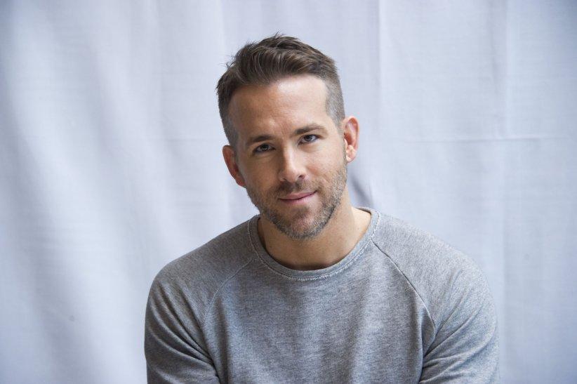 Ryan Reynolds en conférence de presse pour le film Deadpool à l\