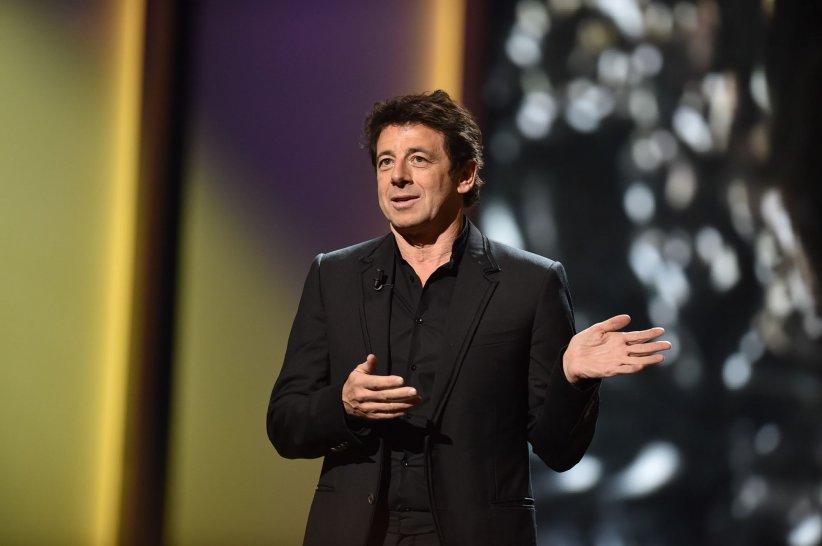 Patrick Bruel sur la scène du Théâtre du Châtelet, lors de la 41e cérémonie des César, le 26 février 2016.