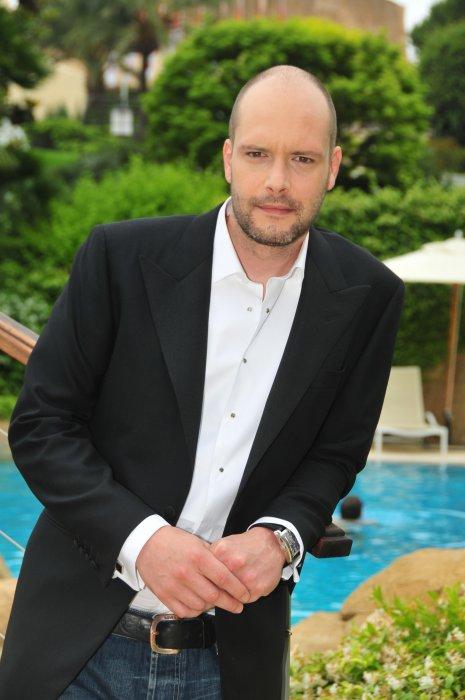 Virgile Bayle, en marge du Festival de la télévision de Monte-Carlo, le 07 juin 2010.