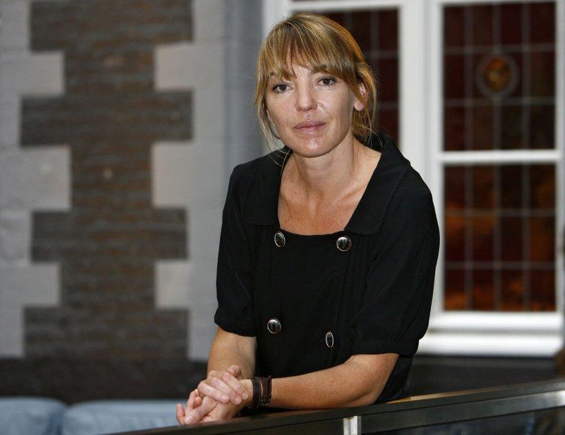 Valérie Guignabodet présente son film Divorces à Lille, en septembre 2009.