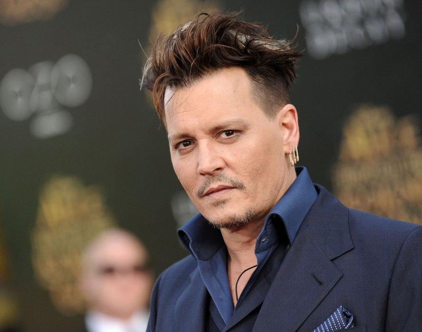 Johnny Depp lors de la première du film  Alice à travers le miroir , à Los Angeles, le 23 mai 2016.