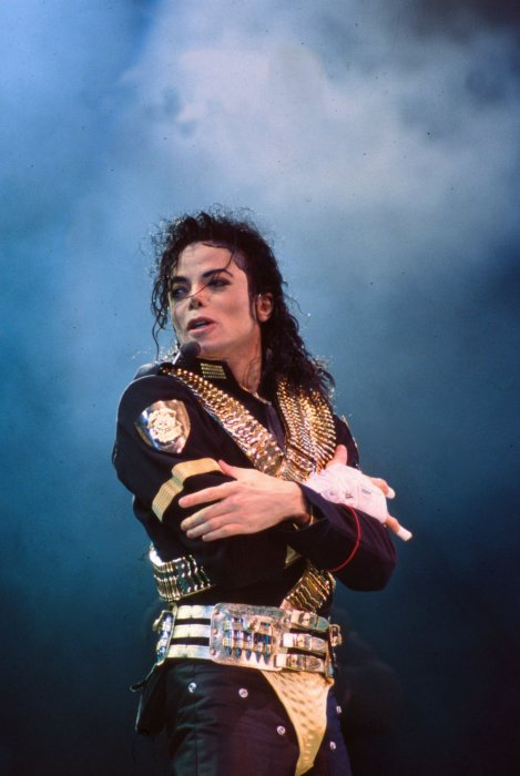 Michael Jackson lors d\