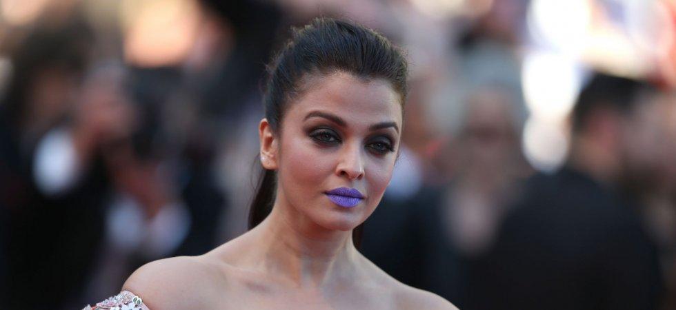 Aishwarya Rai ose le lipstick bleu lavande à Cannes !