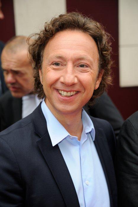Stéphane Bern lors de la conférence de presse de la station de radio RTL à Paris, le 4 septembre 2014.