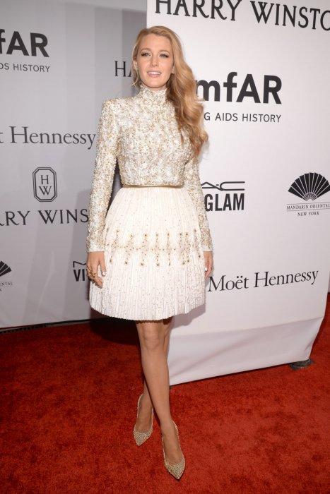 Blake Lively en robe Chanel Haute-Couture lors du gala annuel de l\