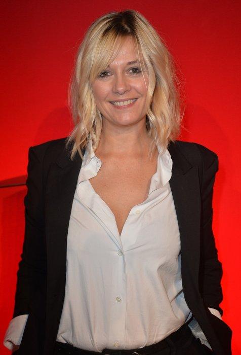 Flavie Flament lors de la conférence de rentrée de RTL à Paris, le 8 septembre 2015.