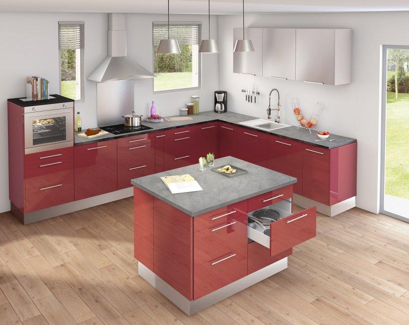 Une cuisine fonctionnelle pour petits budgets.