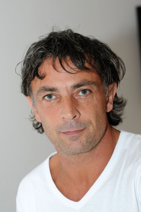 Frédéric Deban participe au Bastille Day à Paris, en juillet 2008.