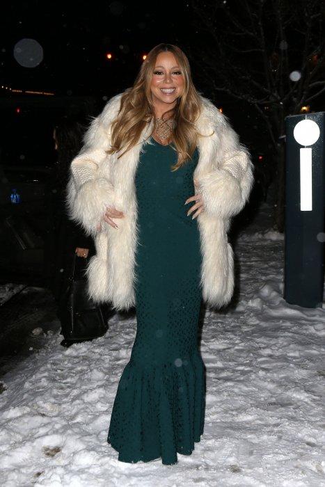 Mariah Carey fidèle à la station de ski Aspen
