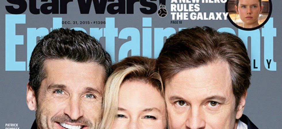 Bridget Jones 3 : Renée Zellweger s'affiche avec ses deux prétendants
