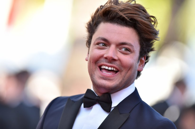 "Kev Adams à la projection du film ""Elle"" lors du 69e Festival de Cannes, le 21 mai 2016."