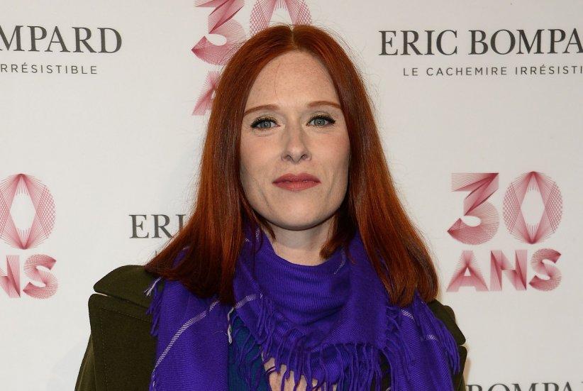 Audrey Fleurot assiste à la soirée des 30 ans de la Maison Eric Bompard au Palais de Tokyo, à Paris, le 15 octobre 2015.