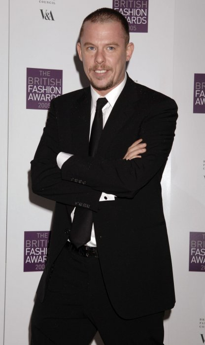 Alexander McQueen aux British Fashion Awards, le 10 novembre 2005.