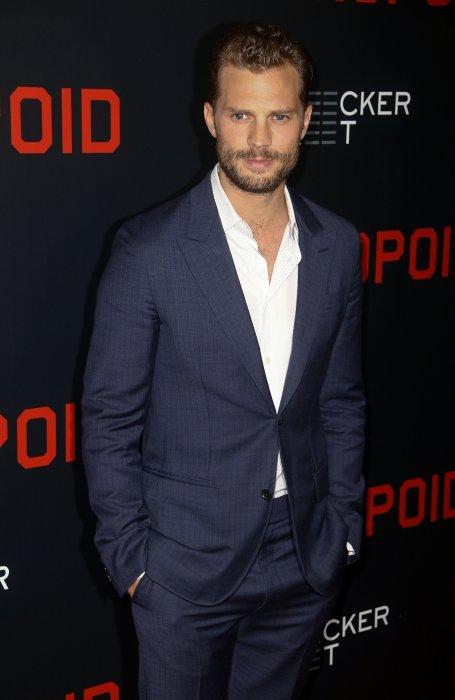 """Jamie Dornan assiste à la première de """"Anthropoid"""" à New York, le 4 août 2016."""